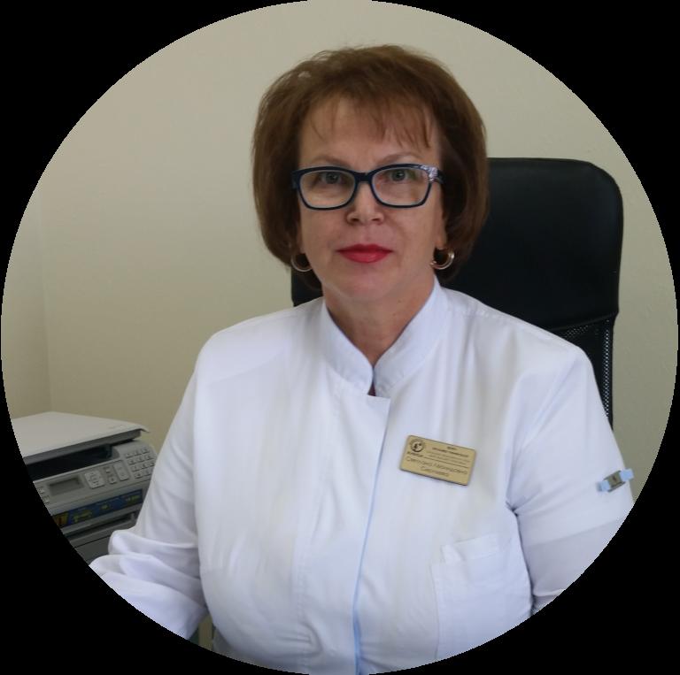 Сергеева Светлана Леонидовна, главный врач, кандидат медицинских наук